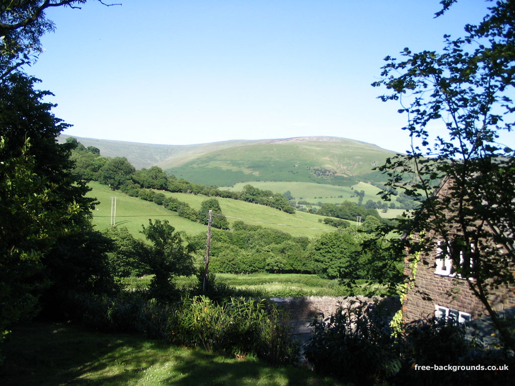 This was taken from a cottage roughly halfway between Abergavenny and Brecon
