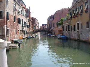 Back Canal of Venice