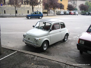 A Very Small Italian Car
