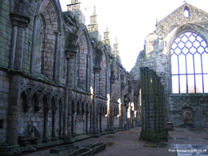Abbey at the Palace of Holyrood House