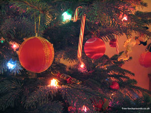 Christmas Tree Decorations 1