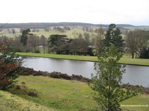 Derbyshire Hillsides and Lakes at Chatsworth
